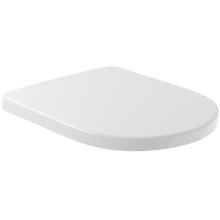 WC-seat and cover Comfort - White Alpin