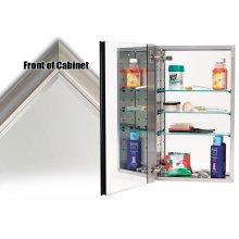 Mirror Cabinet - Satin Nickel