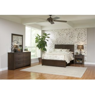 Salvage Loft Bedroom Set
