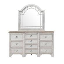 Glendale Estates Transom Top Dresser Mirror