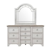Glendale Estates Transom Top Dresser Mirror