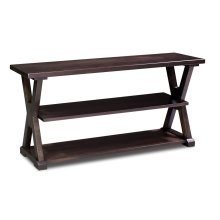 """Valhallah Open TV Stand, 60"""""""
