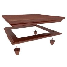 Crown and Base for 4220/4235 : Chestnut