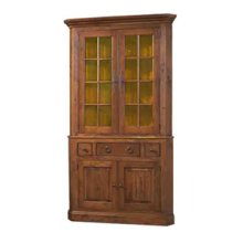 Large Corner Cupboard