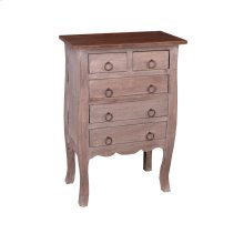 CC-CHE062TT-LWRW  Cottage Chest  Natural Limewash