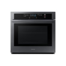 """30"""" Single Wall Oven in Black Stainless Steel"""