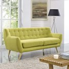 Remark Upholstered Fabric Sofa in Wheatgrass Product Image