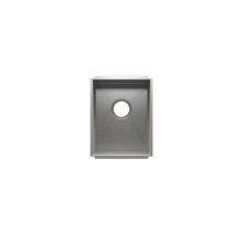 """UrbanEdge® 003602 - undermount stainless steel Kitchen sink , 12"""" × 16"""" × 8"""""""