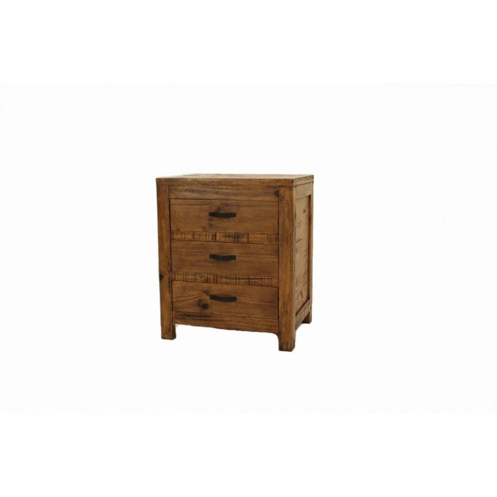 Ashton 3 Drawer Nightstand