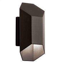 "Estella 12"" LED Wall Light Textured Architectural Bronze"