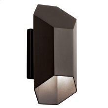 "Estella 12"" LED Wall Light Textured Architectural Bronze"