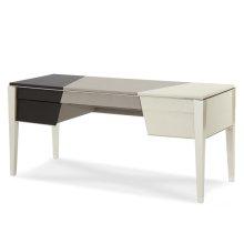 Pearl Caviar w/Black and Gray Desk