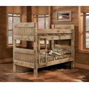 Twin/Twin Bed - 511-3PC Twin/Twin Bunkbed Product Image