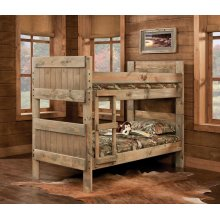 Twin/Twin Bed - 511-3PC Twin/Twin Bed with Bunkies