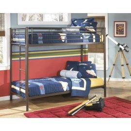 Twin/Twin Metal Bunk Bed