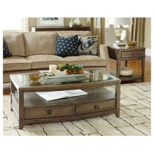 Rectangular Cocktail and End Table Set