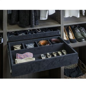 "Felt Covered 24"" Jewelry Organizer. Ships Complete with Dura-Close Slides Attached Product Image"