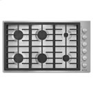 """Pro-Style® 36"""" 6-Burner Gas Cooktop Product Image"""
