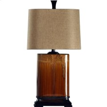 L31423  Ceramic Table Lamp In Cinnaban
