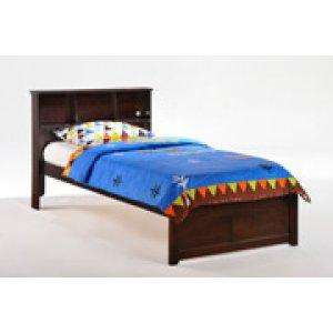 Butterscotch Bed in Dark Chocolate Finish - Full