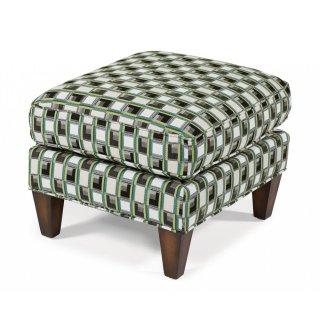 Harvard Fabric Ottoman