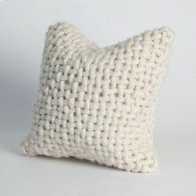 Noodle Felt Pillow-Bone