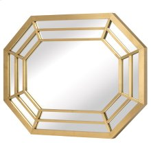 Octavia Wall Mirror  Gold