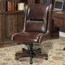 DC#108-CI - DESK CHAIR Leather Desk Chair