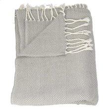 "Throw Sz008 Grey 50"" X 70"" Throw Blanket"