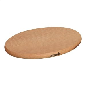 Staub Cast Iron Wood Trivet magnetic, Brown Product Image