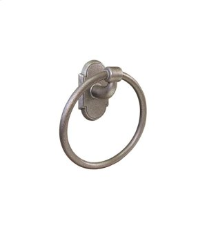 Wrought Steel Towel Ring Product Image