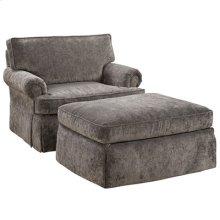 Custom Choices Chair Shown with CC-14 Ottoman