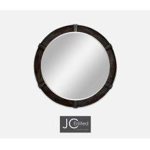 Dark Ale Round Mirror