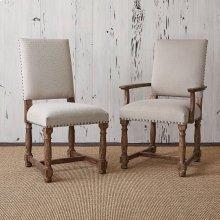 Voranado Arm Chair - Swag Flax