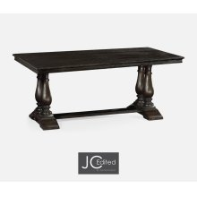 "71"" Dark Ale Rectangular Extending Dining Table"