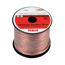 RCA 50 Ft 16-Gauge Speaker Wire