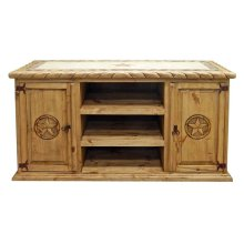 Rope Tx TV Stand Marble Top
