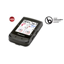 Bluetooth Low Energy connected GPS Navigation Cycle Computer designed for cycling exploration, ideal for training with Pioneer Power Meters