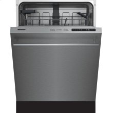 "24"" Tall Tub dishwasher 5 cycles top control stainless 48 dBA"