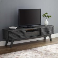 "Render 59"" TV Stand in Charcoal"