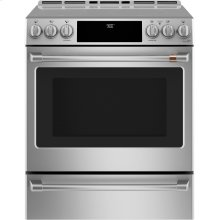 Slide-In Front Control, Induction Oven, 5.7 cu ft, PreciseAir convection, Wifi Connected, Self Clean Oven