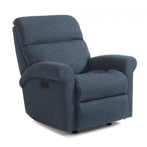 Davis Fabric Power Rocking Recliner with Power Headrest