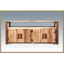 Homestead Television Stand - Stained & Lacquered