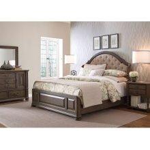 Radford Cal King Uph Shelter Bed - Complete