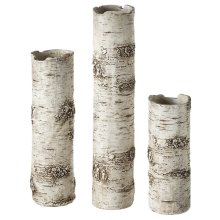 Birch Finish Branch Vase (3 pc. set)