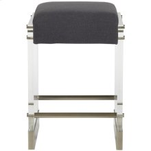Bistro Acrylic Frame Counter Stool V376-CS