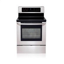 Freestanding Electric Range with EvenJet™ Convection System (This is a Stock Photo, actual unit (s) appearance may contain cosmetic blemishes. Please call store if you would like actual pictures). This unit carries our 6 month warranty, MANUFACTURER WARRANTY and REBATE NOT VALID with this item. ISI 34440