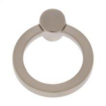 Satin Nickel Round Ring Pull