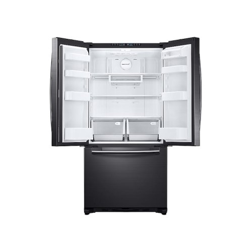 18 cu. ft. Counter Depth French Door Refrigerator in Black Stainless Steel