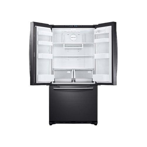 18 cu. ft. Counter Depth French Door Refrigerator in Black Stainless Steel